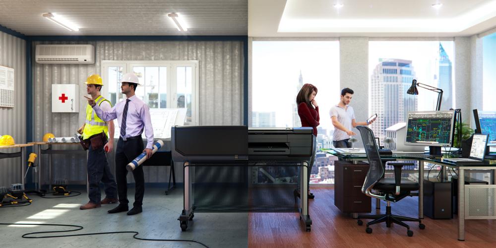 Multifunctionalitate cu HP DesignJet T830 MFP la indemana constructorilor McCarthy Building Companies