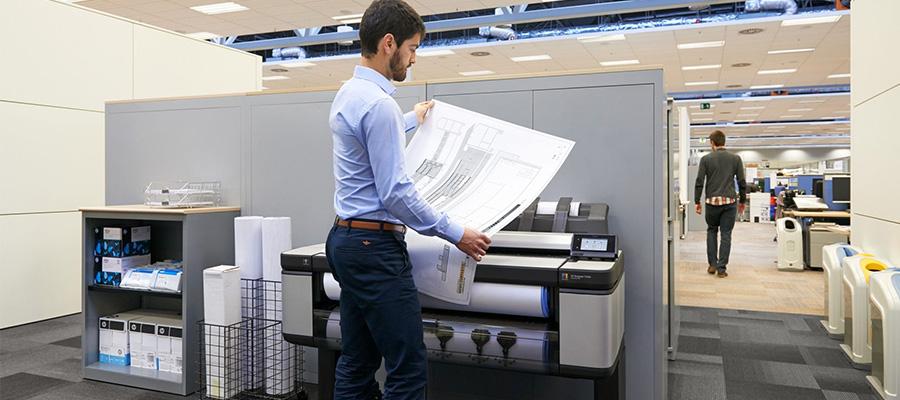 HP Designjet T3500 MFP reinventeaza confortul imprimarii
