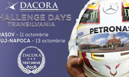 Comunicat de presa Dacora Challenge Days Transilvania