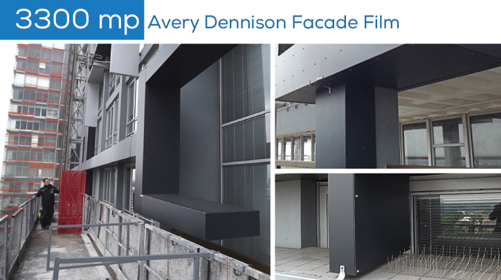 Redecoreaza durabil si ieftin fatade de cladiri cu folia autoadeziva permanenta de la Avery Dennison® prin Dacora Print.txt