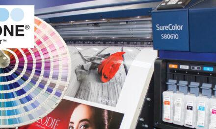 Certificare Pantone pentru Epson SureColor SC-S80610