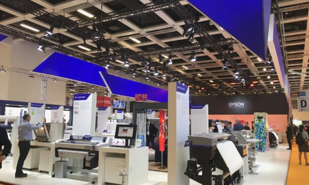 Epson a prezentat la FESPA 2018 o gama larga de aplicatii si echipamente